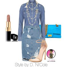Untitled #2379 by stylebydnicole on Polyvore featuring Topshop, Acne Studios, Stuart Weitzman and Chanel