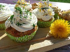 Viera´s Kitchen: Gemüse Cupcakes mit Rohschinken und Quarktopping