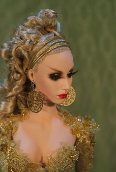 "OOAK Sybarite doll ""GLADRAMA"" - ITALIAN DOLL CONVENTION EXCLUSIVE"
