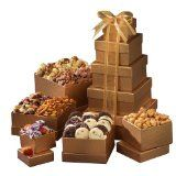Broadway Basketeers Happy Birthday Gift Tower of Sweets (Grocery)By Broadway Basketeers