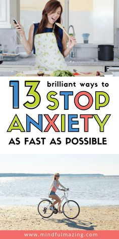 Stop worrying right now by using these 12 simple tips and strategies. These habits will help you calm down, find peace and sleep better. Tips for anxiety management, stress relief. Deal With Anxiety, Anxiety Relief, Anxiety Tips, Mindfulness For Kids, Confidence Tips, Stress Relief Tips, Stop Worrying, Behavioral Therapy