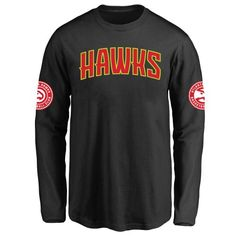 Atlanta Hawks Youth Design Your Own Long Sleeve T-Shirt - $38.99