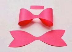 Cara Membuat Pita Cantik dari Kertas Karton   Cara Membuat kerajinan tangan Membuat Kerajinan Tangan