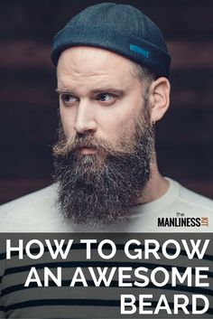 How to grow a beard for the first time? Beard growth stages and tips for growing a beard thicker and faster. Understanding the beard growth timeline Beard Growth Stages, Beard Growth Tips, Vitamins For Beard Growth, Beard Tips, Beard Rules, Great Beards, Awesome Beards, Epic Beard, Full Beard