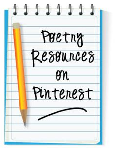 2nd graders are writing poetry right now - Poetry Resources on Pinterest
