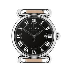 Driver Stainless Steel Black Large Watch