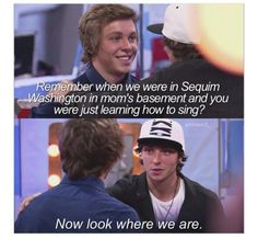 Awww! We can't forget this cute broment! #emblem3 #stromberg #broment