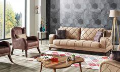Canapea Extensibila 3 locuri Woody Maro deschis K1 #couch #homedesign #livingroom House Design, Couch, Living Room, Furniture, Home Decor, Settee, Decoration Home, Sofa, Room Decor