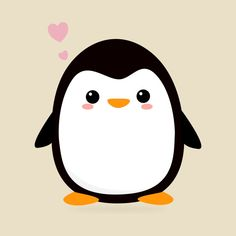 ff7f7a89d Check out this awesome 'Kawaii+Penguin+T-Shirt' design on @. Cute Penguin  CartoonPenguin ...