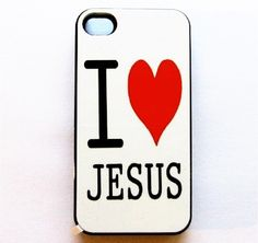 Awesome iPhone cases I<3 Jesus