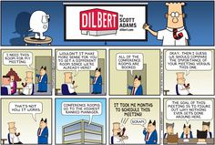 Funniest Dilbert Comics On Idiot Bosses - Business Insider