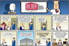 Funniest Dilbert Comics On Idiot Bosses - Business Insider