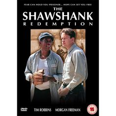 "The Shawshank Redemption (1995), directed by Frank Darabont, based on the short story by Stephen King, starring Tim Robbins, Morgan Freeman and Bob Gunton. ""Two imprisoned men bond over a number of years, finding solace and eventual redemption through acts of common decency."""