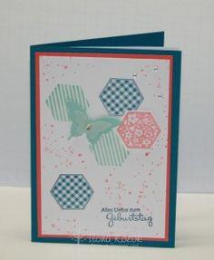 Geburtstagskarte aus dem Stempelhaus