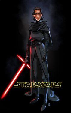 Star Wars: Episode VII - The Force Awakens - Kylo Ren / Ben Solo Kim Il Kwang *