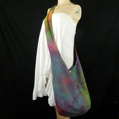 Tie Dye Bag Purse Classic Hobo Hippie Sling by BenThaiProducts, $15.19