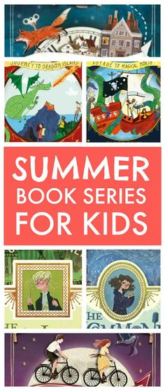 New summer book series for kids in the spirit of Harry Potter