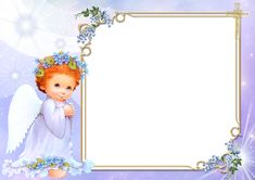 Angel Transparent Frame