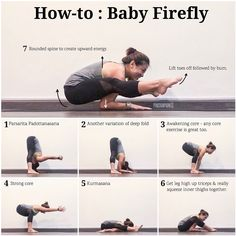 I've got a number of messages requesting for a demo on how to get into baby #FireflyPose after my post, so here it is. . Lotsa deep prep…