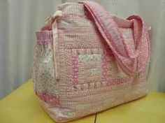Resultado de imagem para bolsa maternidade patchwork