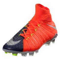 finest selection 10675 5ca6e Nike Junior Hypervenom Phantom III DF FG Kids Soccer Cleat