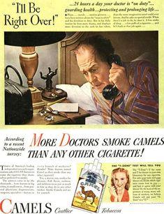 Camel Cigarettes | #ads #advertising #retroads #vintageads