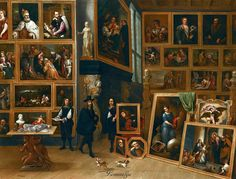 David Teniers the Younger ANTWERP 1610 - 1690 BRUSSELS THE PICTURE GALLERY OF ARCHDUKE LEOPOLD WILLIAM