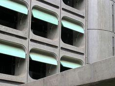 Office tower in Brasilia by João Filgueiras Lima #architecture