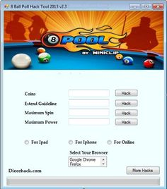 8 Ball Pool Hack Triche Astuce – 2014 : Apps, Games, Downloads FREE