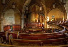 Abandoned church, Detroit - amazing photo by Timothy Neesam of Gumshoe Photos.