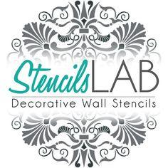 Schablone Wandmalerei mandala schablone boden stencil mandala boden schablone
