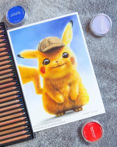 Pikachu is the cutest Pokemon ever created, that's why it was a good time to test some new art supplies while drawing it 🔥 Did You watch… Pikachu Pikachu, Cute Pokemon Wallpaper, Disney Phone Wallpaper, Captain America Poster, Pikachu Drawing, Bear Wallpaper, Cool Pokemon, Animal Sketches, Colorful Drawings