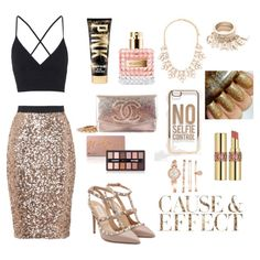 A fashion look from January 2016 featuring bralet tops, sequined skirt and evening shoes. Browse and shop related looks. Sequined Skirt, Evening Shoes, One Pic, Fashion Looks, Skirts, Image, Shopping, Sequin Skirt Outfit, Skirt