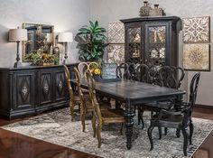 Hemispheres: A World of Fine Furniture | Auberose Rectangle Leg Dining