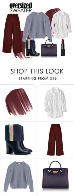 60 SECOND STYLE by aanchal-sagar on Polyvore featuring Acne Studios, Proenza Schouler, Tory Burch, ZAC Zac Posen, LORAC and NARS Cosmetics