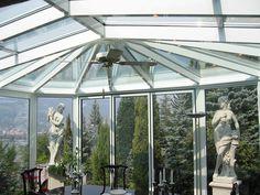 Giardino d'inverno in alluminio e vetro Giardino d'inverno - FRUBAU
