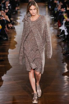Cara Delevingne at Stella McCartney autumn/winter 2014 runway #PFW