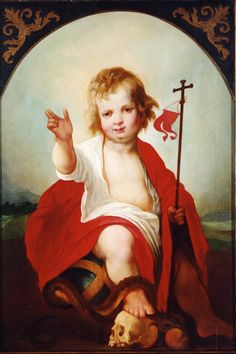 The Christ Child  -Juan de Roelas-  ca. 1620 - Museum of Fine Arts, Seville, Spain