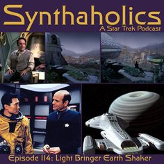 Synthaholics Episode 114: Light Bringer Earth Shaker Voyager is the Light Bringer, Earth Shaker is this season six episode of Star Trek Voyager: Blink of an Eye. Aaron and David are sticking to their promise to bring you more voyager in 2017! This week we give Harry Kim a break since he barely appears in this episode! We enjoyed this episode about really bad science because it let us get to know the planet as it aged and the people that inhabited the planet and how its mythos was build all…