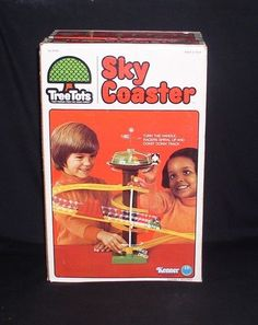 Tree Tots Sky Coaster Kenner Vintage 1970's Toy