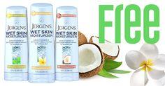 Free Sample Of JERGENS Wet Skin Moisturizer