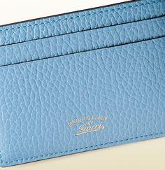 porte-cartes Gucci swing en cuir