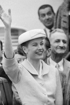 Historical reference: Grace Kelly, April 4, 1956