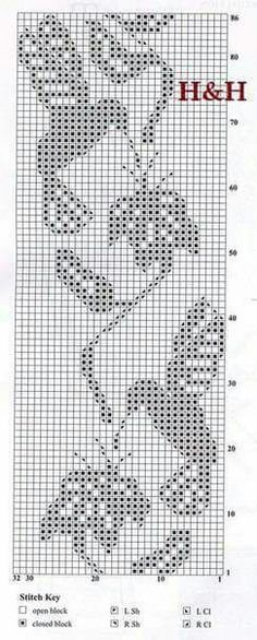 37 trendy ideas for crochet doilies filet cross stitch Filet Crochet Charts, Crochet Cross, Crochet Motif, Knitting Charts, Crochet Stitches, Knitting Patterns, Crochet Patterns, Crochet Doilies, Cross Stitch Bird