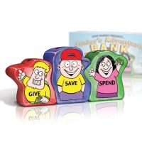 "Great idea for kids! Dave Ramsey ""Give, save spend"" banks!"