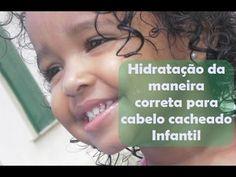 Coisas que Gosto: Hidratação no cabelo cacheado/crespo de Criança. V...