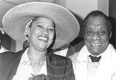 Toni Morrison and James Baldwin