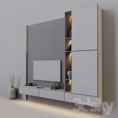 models: Other - tv set 49 Living Room Partition Design, Room Partition Designs, Living Room Tv Unit Designs, Bedroom False Ceiling Design, Tv Cabinet Wall Design, Tv Wall Design, Tv Unit Decor, Tv Wall Decor, Wall Tv