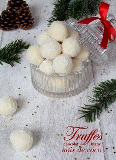 Truffes chocolat blanc noix de coco : l'alliance parfaite entre la douceur et l'exotisme pour vos cadeaux gourmands !