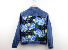 Starry Night Denim Jacket
